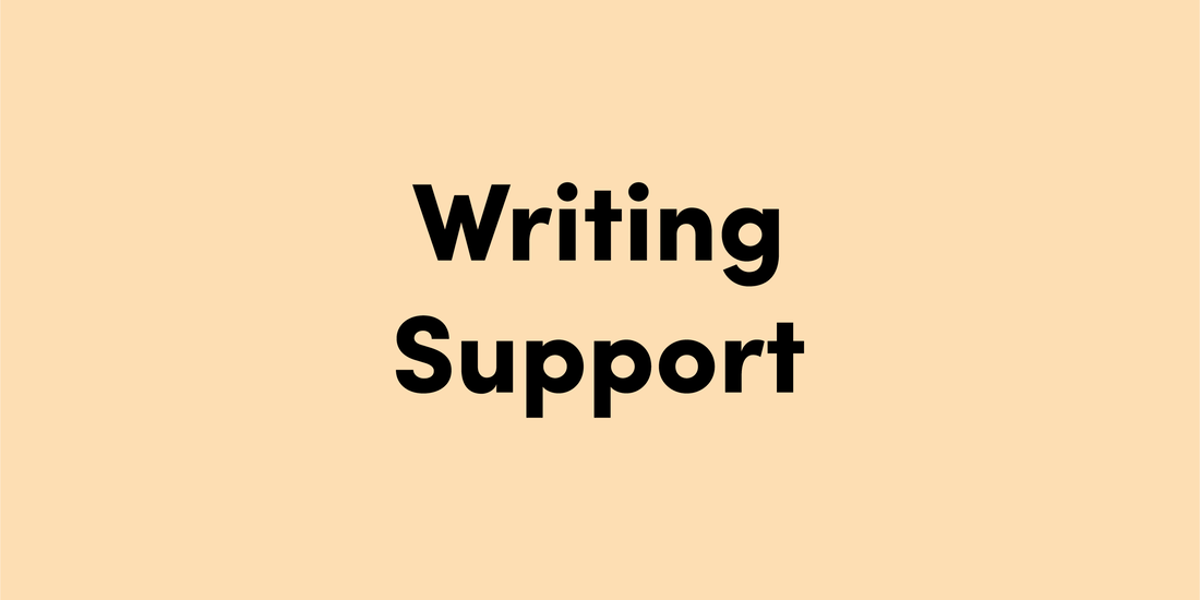 Writing Support Resources